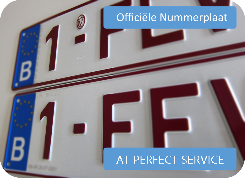 AT Perfect Service autoplaat online bestellen
